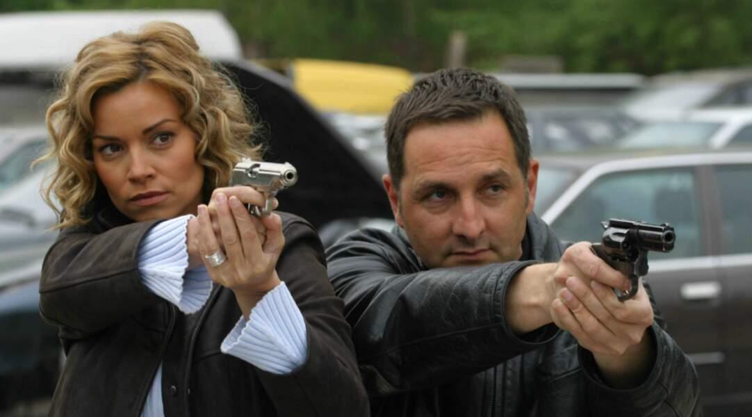 Elle y incarne le lieutenant Marie Balaguère au côté d'Eric Debrosse