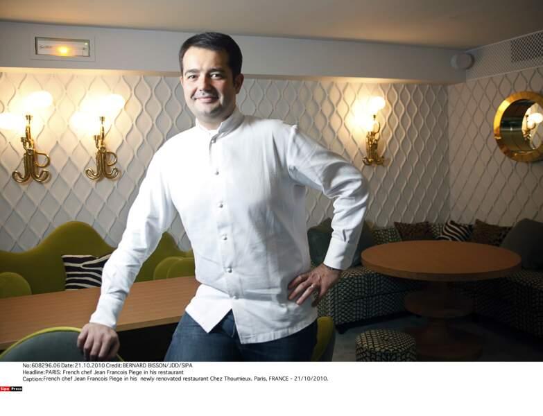 C'est en 2010 que Jean-François Piège devient juré de l'émission culinaire de M6