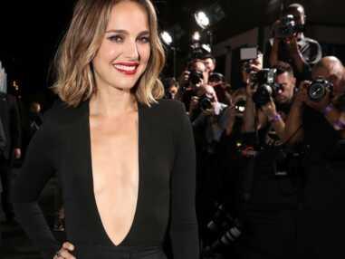 Natalie Portman : son look glamour au décolleté vertigineux à la première de Lucy in the Sky