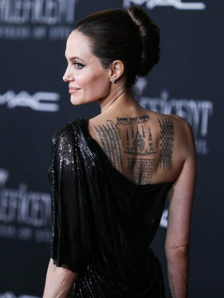 Elle assistait hier à l'avant-première du film, à Los Angeles