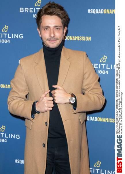 Guillaume Pley très élégant !