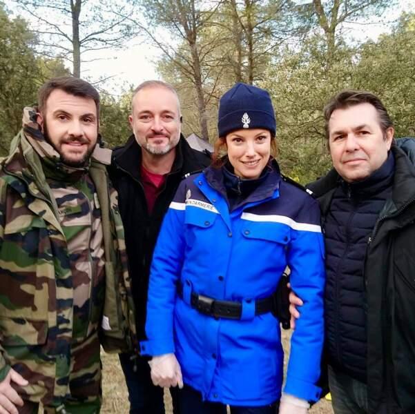 Bientôt, le comédien jouera au capitaine de police dans L'archer, sur France 3