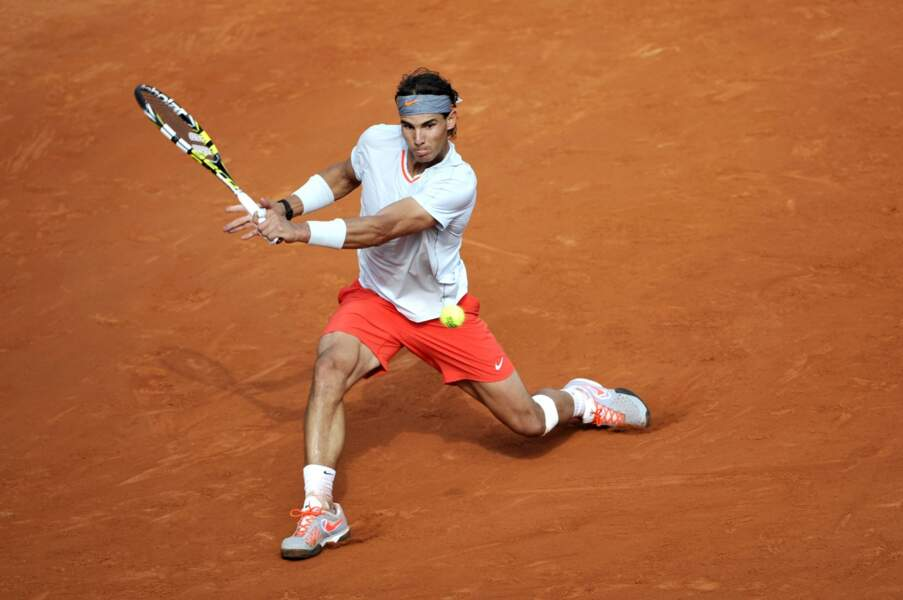 Rafael Nadal, lui, n'a pas peur de la chaleur !