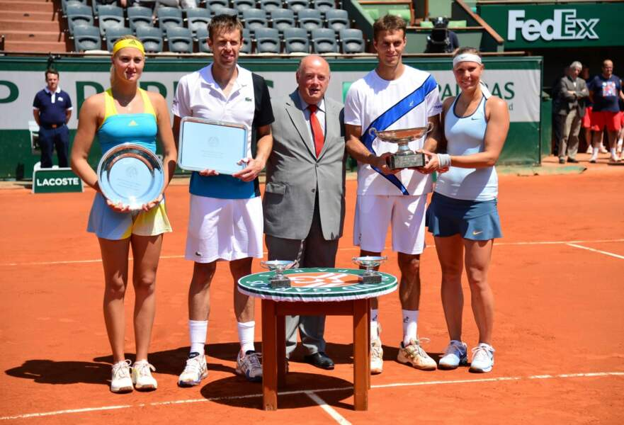 Le titre est revenu à la paire tchèque Lucie Hradecka et Frantisek Cermak en 3 sets : 1-6, 6-4, 10-6.
