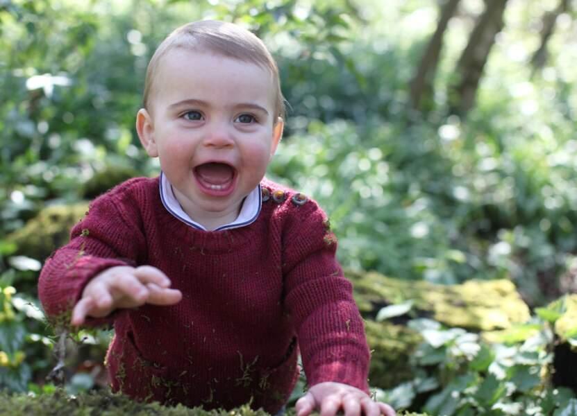 Avril 2019 : Louis vient d'avoir 1 an !