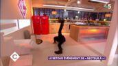 Stomy Bugsy fait du break dance dans C à vous… avec des bottes ! (VIDEO)
