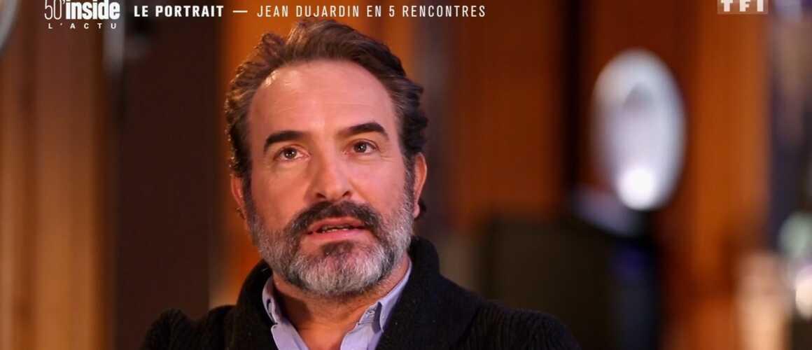 Tr s mu jean dujardin voque johnny hallyday et sa for Dujardin dernier film