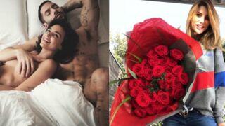 Jade Leboeuf et son chéri nus au lit, Ariane Brodier et son bouquet géant... les people fêtent la Saint-Valentin ! (14 PHOTOS)
