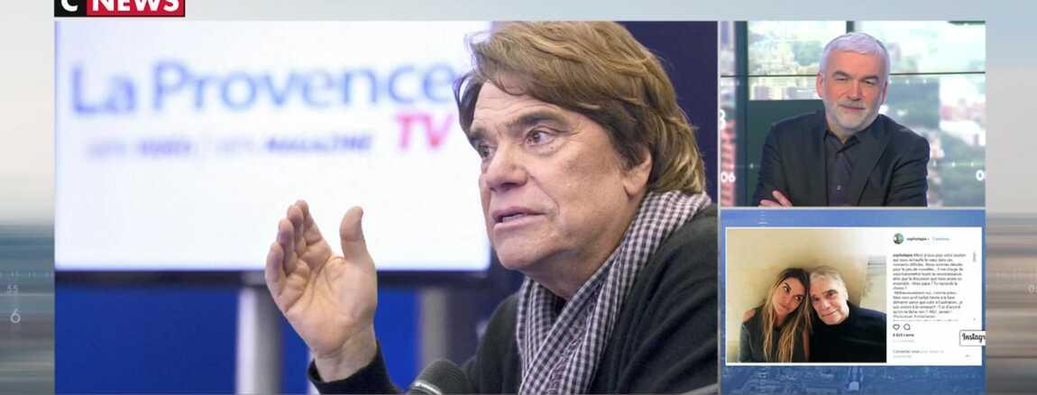 """Résultat de recherche d'images pour """"cnews pascal praud bernard tapie"""""""