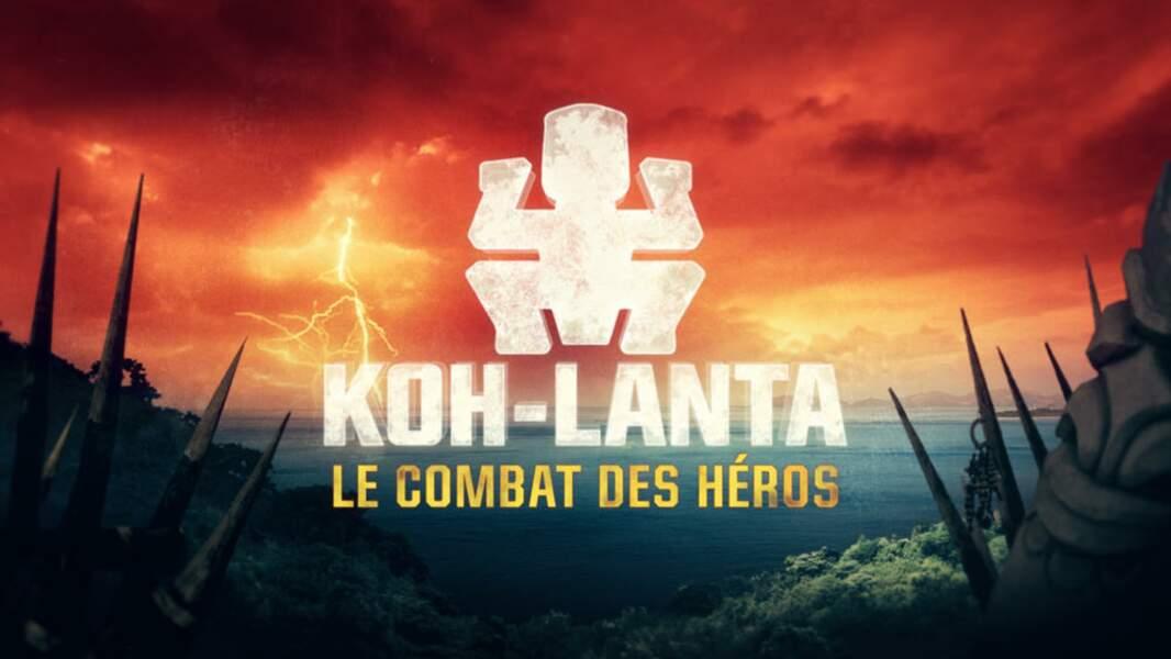 Le logo de Koh-Lanta : le combat des héros