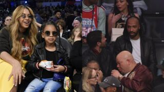 Beyoncé et sa fille Blue-Ivy, Thierry Henry... du beau monde dans les gradins du NBA All-Star Game (10 PHOTOS)