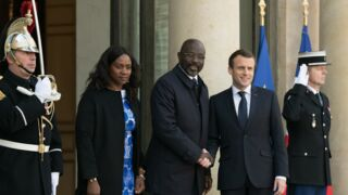 Kylian Mbappé a déjeuné à l'Elysée avec Emmanuel Macron et George Weah ! (PHOTO)