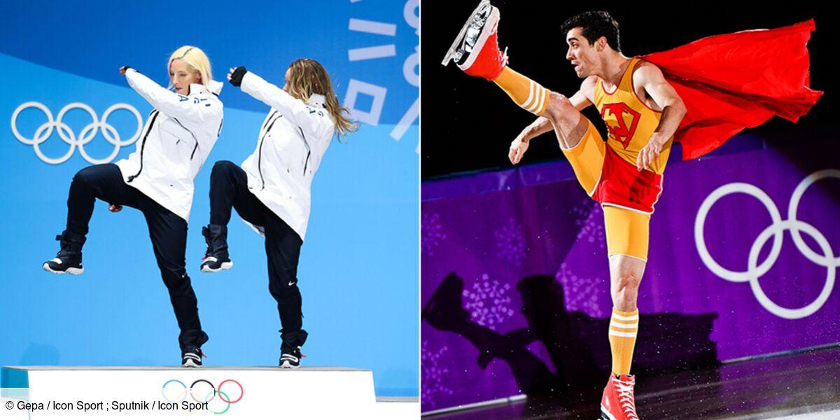 Des Choregraphies Tres Droles Et Des Costumes Loufoques C Est L Insolite Des Jeux Olympiques 38 Photos