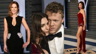 Oscars 2018 : robes fendues, décolletés pigeonnants, couples amoureux… Le tapis rouge de la soirée Vanity Fair (PHOTOS)
