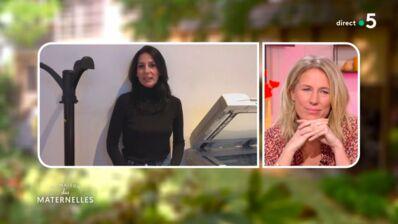 Agathe Lecaron très émue par les messages d'anniversaire de Karine Le Marchand et Marie Drucker (VIDEO)