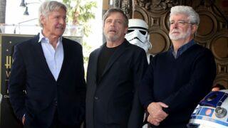 Star Wars : Mark Hamill inaugure enfin son étoile à Hollywood avec Harrison Ford et George Lucas
