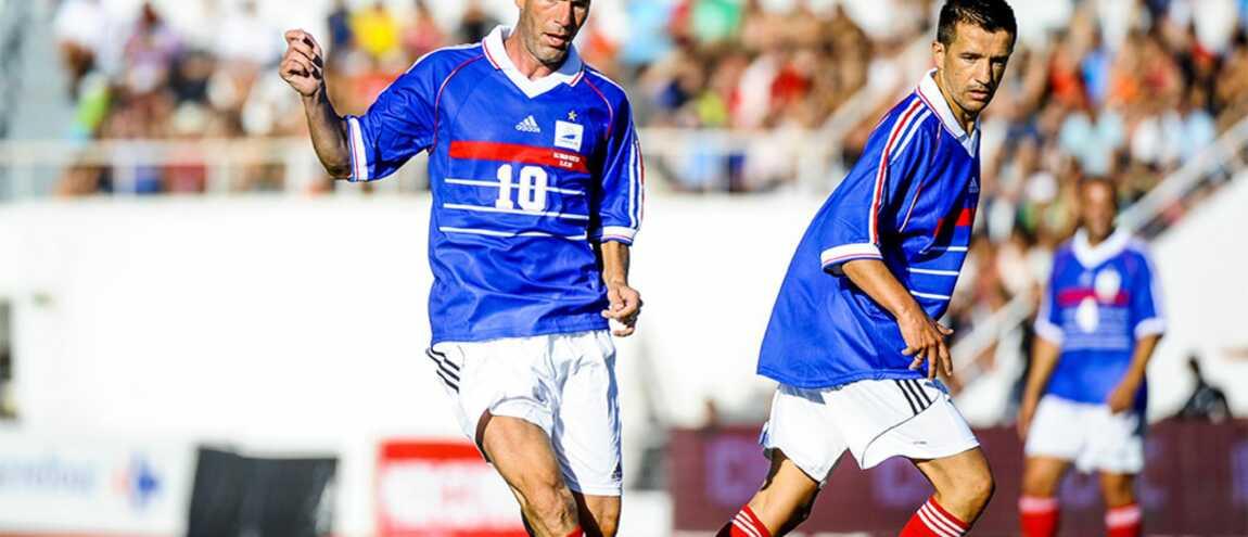 France 98 20 ans apr s un match des l gendes version mondial 98 sur tf1 - Joueur coupe du monde 98 ...