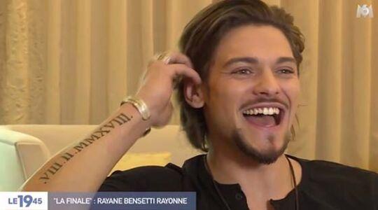 Rayane Bensetti Un Tatouage En Hommage A Son Papa Decede Photo