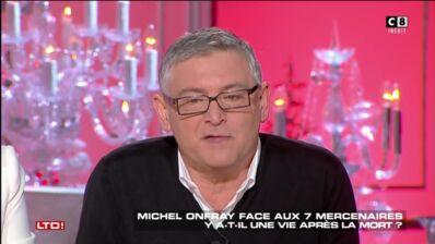 Les Terriens du dimanche : Michel Onfray évoque son AVC et la façon dont Thierry Ardisson a contribué à lui sauver la vie (VIDEO)