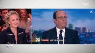 """Caroline Roux dans Quotidien : """"L'interview de François Hollande était lunaire"""""""
