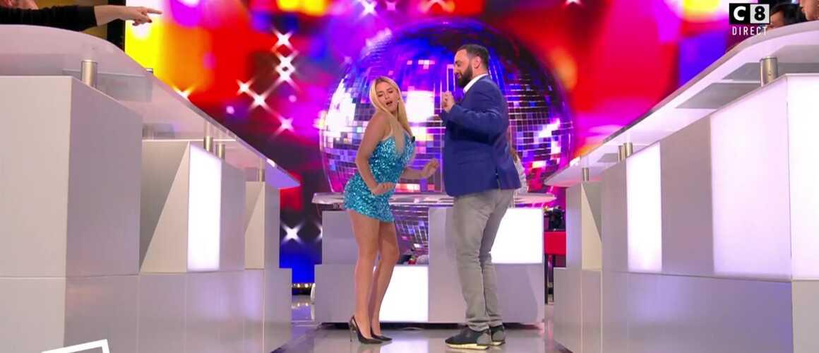 Vincent Lagaf' ébloui par la danse très sexy de Kelly Vedovelli dans TPMP (VIDEO)