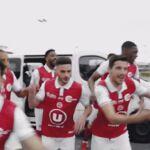 Football : le club de Reims fête son accession en Ligue 1 avec une vidéo délirante (VIDEO)