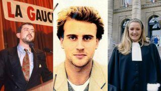 Emmanuel Macron, Marine Le Pen, Jean-Luc Mélenchon... les personnalités politiques ont bien changé ! (34 PHOTOS)