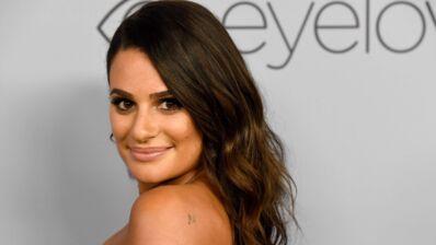Lea Michele, la star de Glee est fiancée et dévoile son énorme diamant ! (PHOTO)