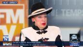 """Mariage pour tous. Geneviève de Fontenay blague sur sa relation avec Florian Philippot : """"Je ne risquais pas un harcèlement sexuel avec lui""""  (VIDEO)"""