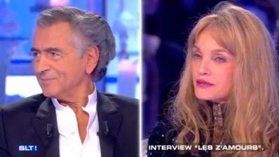 """Arielle Dombasle et Bernard-Henri Levy """"embarrassés"""" d'être ensemble sur le même plateau (VIDEO)"""