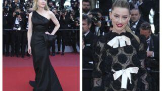 Cannes 2018 :  Kendall Jenner (presque) seins nus, Amber Heard ravissante... la montée des marches 100% féminine (17 PHOTOS)