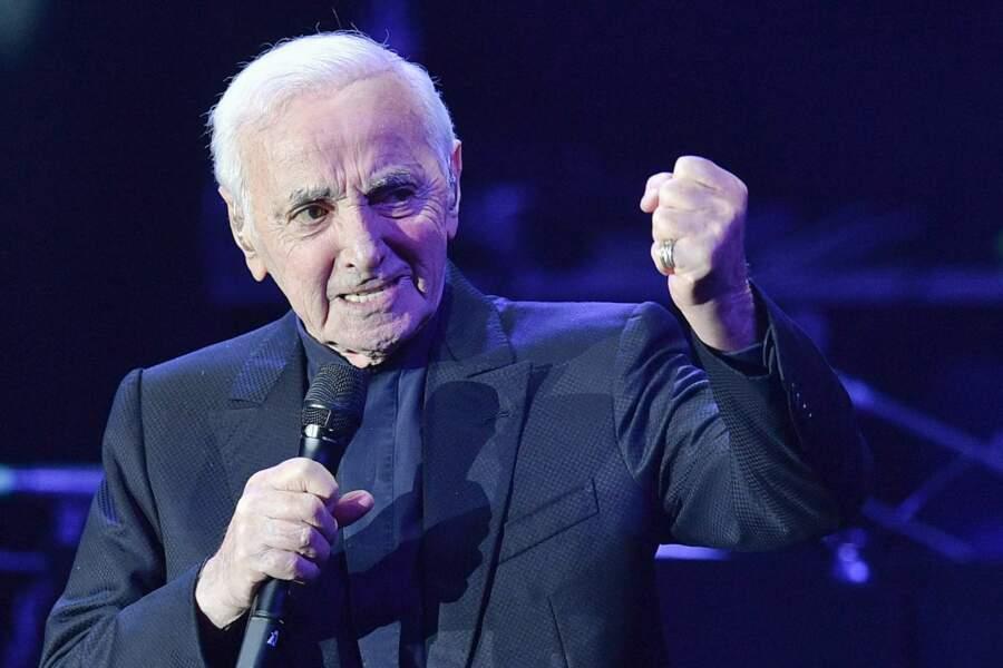 Charles Aznavour en concert à Pragues le 16 mars 2018