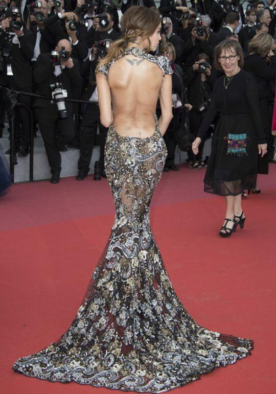 Cannes 2018 : Nabilla et Thomas… Baiser fougueux, robe sexy et tatouage intime, c'était chaud ...