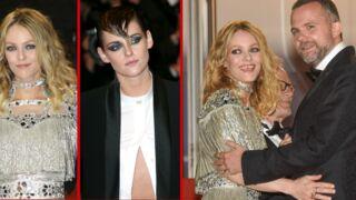 Cannes 2018 : Vanessa Paradis radieuse, Kristen Stewart sublime androgyne… La montée des marches d'Un couteau dans le cœur (20 PHOTOS)