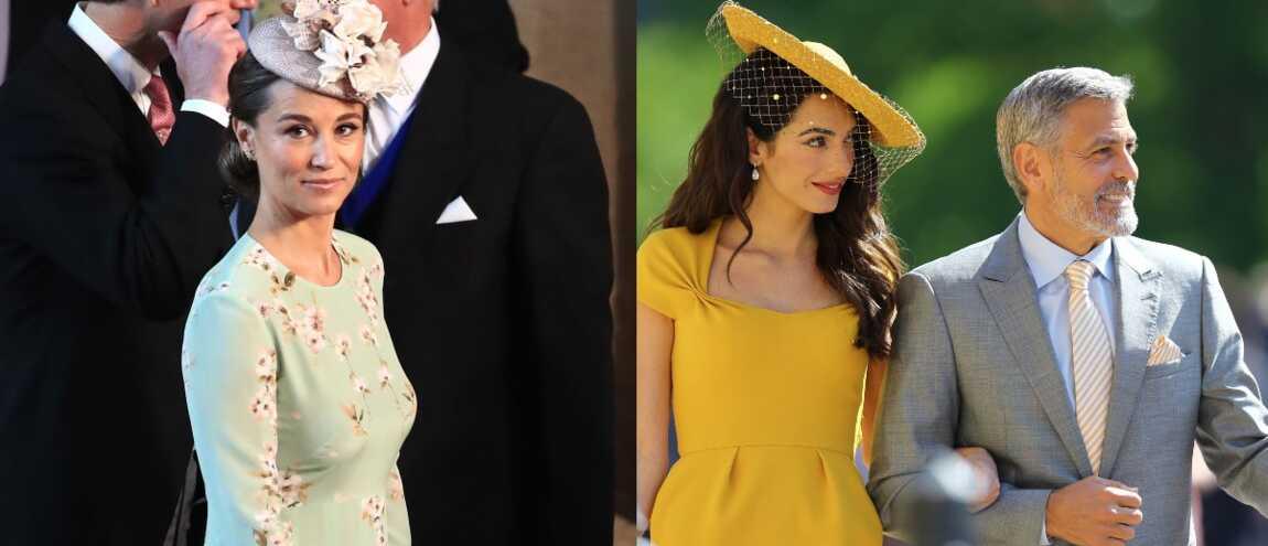 Mariage d\u0027Harry et Meghan  Pippa Middleton sublime, George Clooney, les  Beckham Les people élégants pour la cérémonie ! (14 PHOTOS)