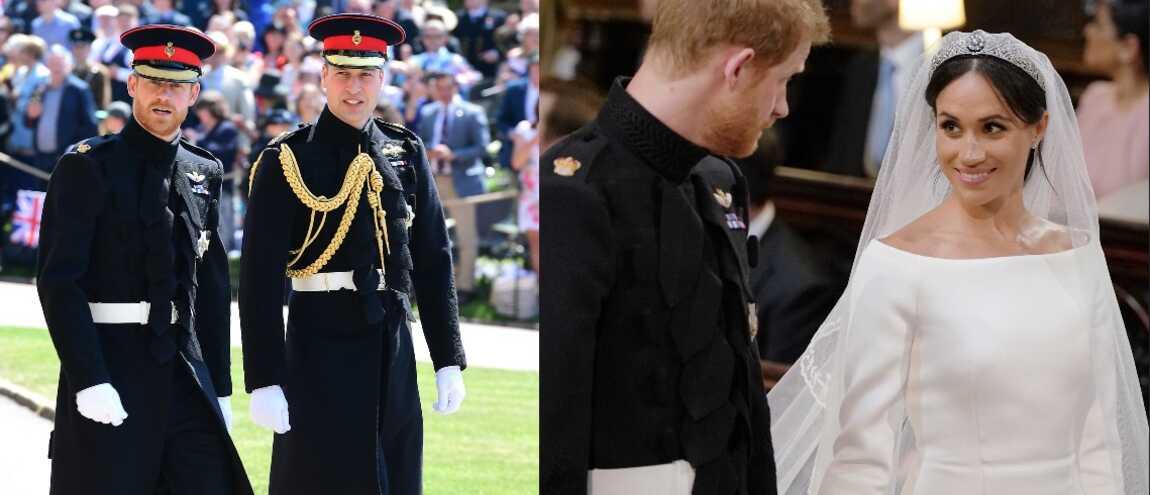 Mariage royal  Meghan sublime, Harry très élégant Les tenues de la  famille royale ! (19 PHOTOS)