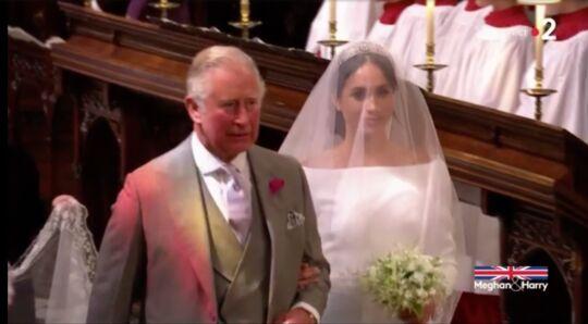 Mariage Harry Et Meghan La Robe De Mariee Elegante Et