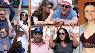 Mike Tyson en famille, Frédérique Bel, Benjamin Castaldi et sa femme… les people déchaînés à Roland-Garros (29 PHOTOS)