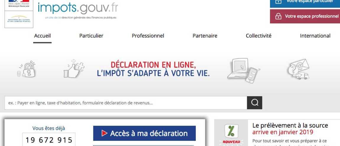 Impots Gouv Fr Mardi 5 Juin Dernier Jour Pour La Declaration Des