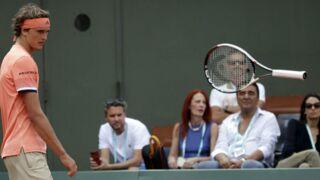 Roland-Garros 2018 : chute, effets d'optiques... une édition insolite (PHOTOS)