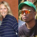 Pharrell Williams méconnaissable, Estelle Lefébure bien accompagnée, Joyce Jonathan sublime... à Roland-Garros ! (12 PHOTOS)