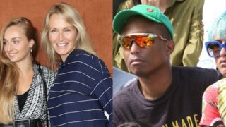 Pharrell Williams méconnaissable, Estelle Lefébure bien accompagnée, Joyce Jonathan sublime... à Roland-Garros ! (12 PHOTOS)