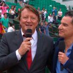 Vive émotion lors des adieux de Lionel Chamoulaud à Roland Garros (VIDEO)