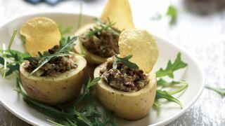 Farcis de blue belle aux champignons : une recette délicieuse et facile de pomme de terre