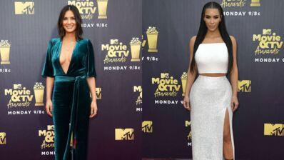 Kim Kardashian en robe fendue, Olivia Munn sensuelle… Des stars très glamours aux MTV Movies & TV Awards 2018 (PHOTOS)