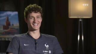 Coupe du monde 2018 : quand Benjamin Pavard part dans un fou-rire incontrôlable ! (VIDEO)