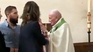 Scandale : un prêtre frappe un bébé dans une église ! (VIDEO)