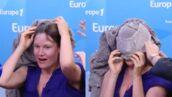 La chanteuse Camille se coince dans son pull en pleine interview sur Europe 1 et provoque un fou rire (VIDEO)