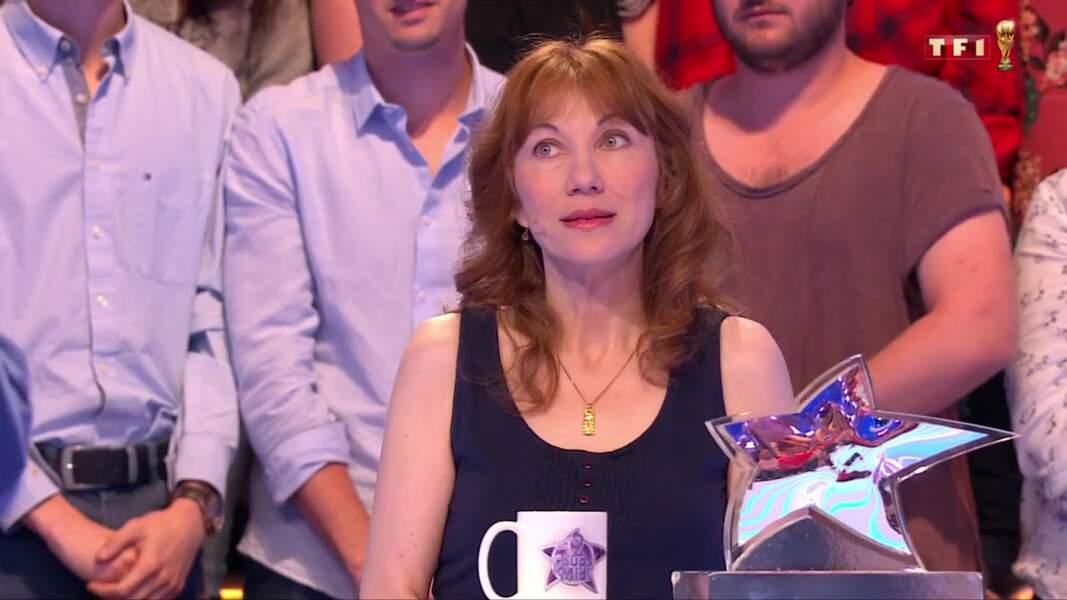 10. Véronique, 447 226 €, Les 12 Coups de midi, TF1 (2018)