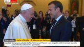 Emmanuel Macron rencontre le Pape François au Vatican (VIDEO)